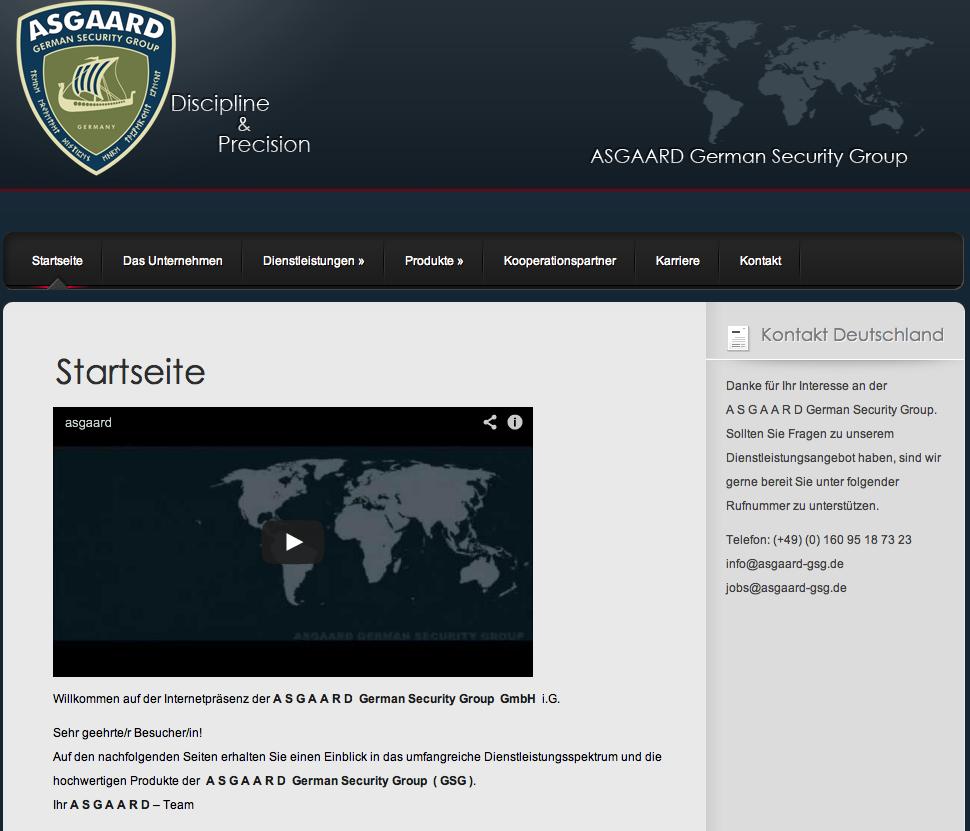 ASGAARD Website